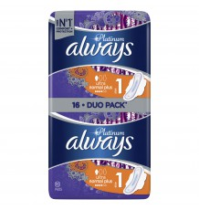 ALWAYS прокладки Ultra Platinum Normal Plus Duo, 16 шт.