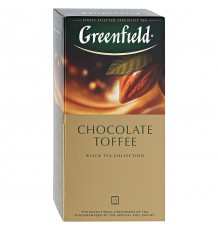 Чай черный Greenfield Chocolate Toffee в пакетиках, 25 шт.