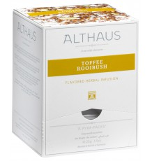 Чай Травяной Althaus Toffee Rooibush, 15 шт * 2,75 г