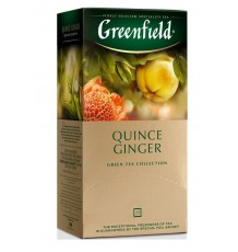 Чай зеленый Greenfield Quince Ginger в пакетиках, 25 шт.