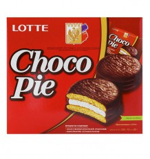 Пирожное Lotte Confectionery Choco Pie, 336 г
