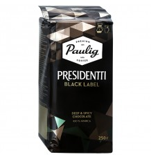 Кофе молотый Paulig Presidentti Black Label, 250 г