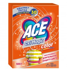 Пятновыводитель Ace Oxi Magic Color, 500 г
