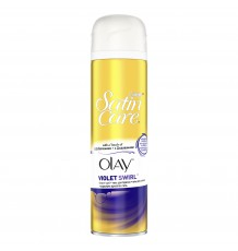 Гель для бритья Gillette Satin Care Olay Violet Swirl, 200 мл