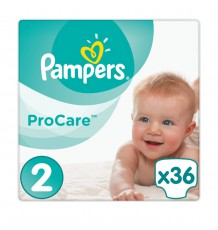 Подгузники Pampers ProCare Mini (3-6 кг), 36 шт.