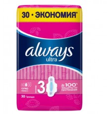 Always прокладки Ultra Super Plus, 30 шт.