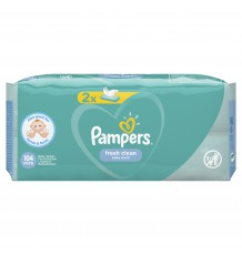 Влажные Cалфетки Pampers Fresh Clean, 104 шт