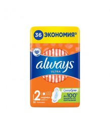ALWAYS прокладки Ultra Normal Quatro, 36 шт