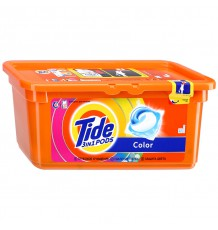 Капсулы Tide 3 in 1 Pods Color, 30 х 24,8 г
