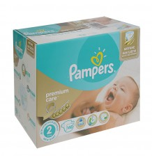 Подгузники Pampers Premium Care New Baby (3-6кг) 148 шт.